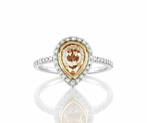 Halo Diamond Ring 012