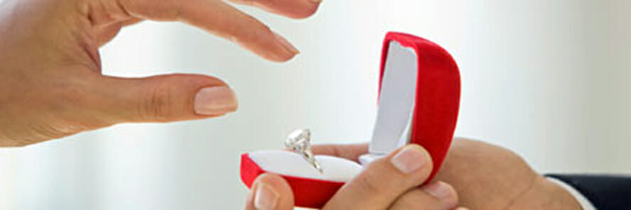 Some trivia about the customary wedding and engagement ring, and the story behind it. 3