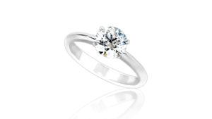 MS Signature Solitaire | Diamond Engagement Ring
