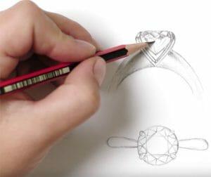 MS Signature Solitaire Ring