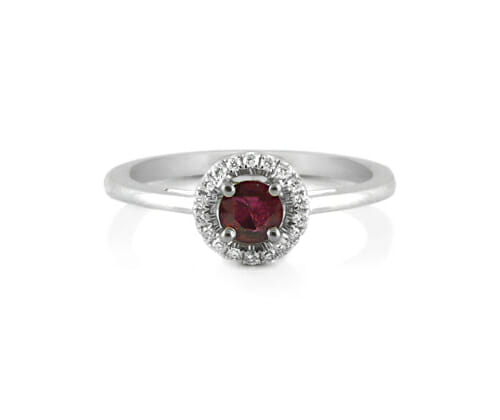 Coloured Gemstone Ring 3