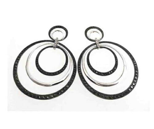 Black and White Diamond Jewellery 38