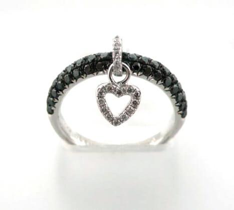 Black and White Diamond Jewellery 23