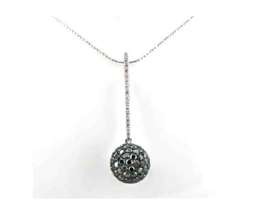 Black and White Diamond Jewellery 28