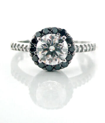 Black and White Diamond Jewellery 19