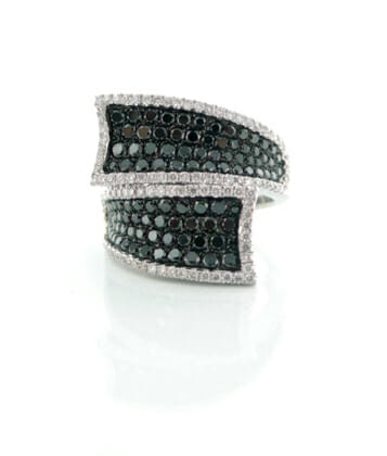 Black and White Diamond Jewellery 13