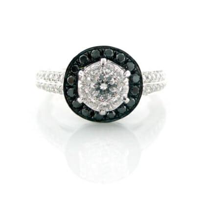 Black and White Diamond Jewellery 21