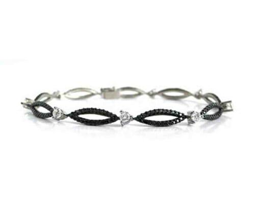 Black and White Diamond Jewellery 5