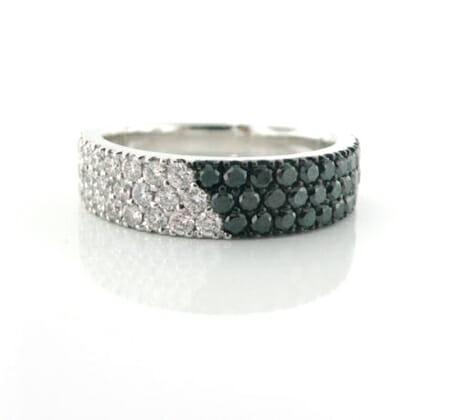 Black and White Diamond Jewellery 22