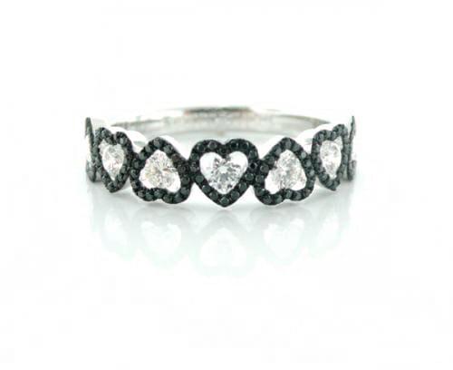 Black and White Diamond Jewellery 24