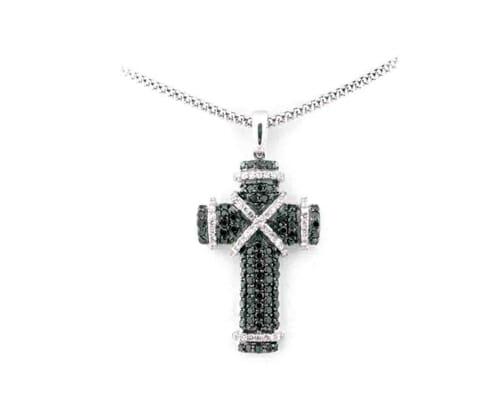 Black and White Diamond Jewellery 30