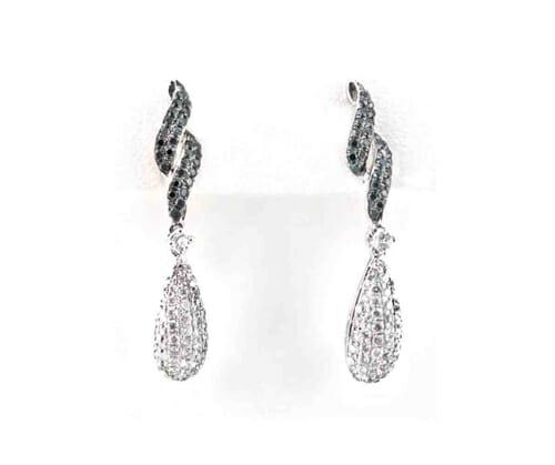 Black and White Diamond Jewellery 36