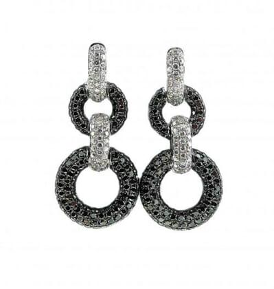 Black and White Diamond Jewellery 35