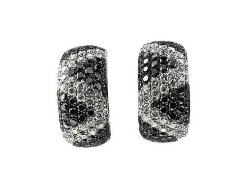 Black and White Diamond Jewellery 34