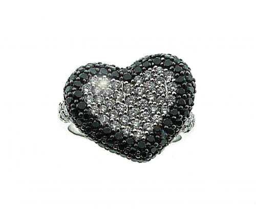 Black and White Diamond Jewellery 1