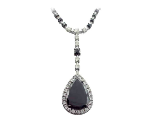 Black and White Diamond Jewellery 26