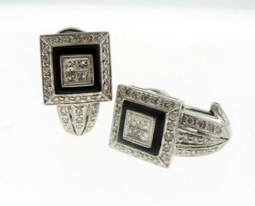 Black and White Diamond Jewellery 39