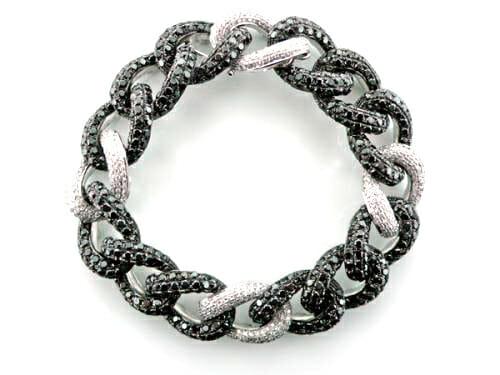 Black and White Diamond Jewellery 4