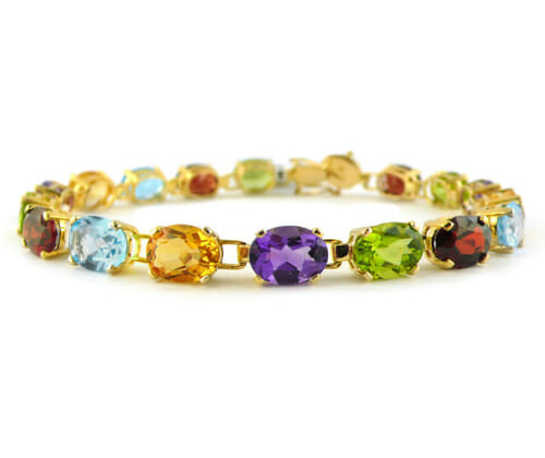 Coloured Gemstone Jewellery 36