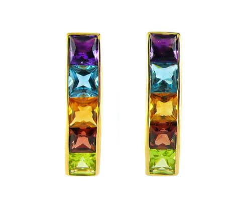 Coloured Gemstone Jewellery 46