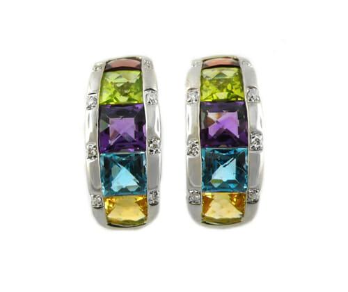 Coloured Gemstone Jewellery 47