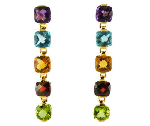 Coloured Gemstone Jewellery 49