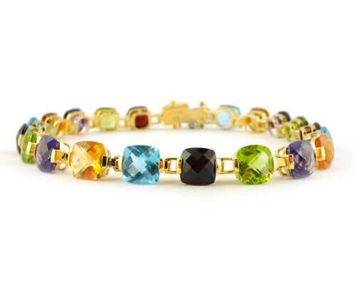Coloured Gemstone Jewellery 53