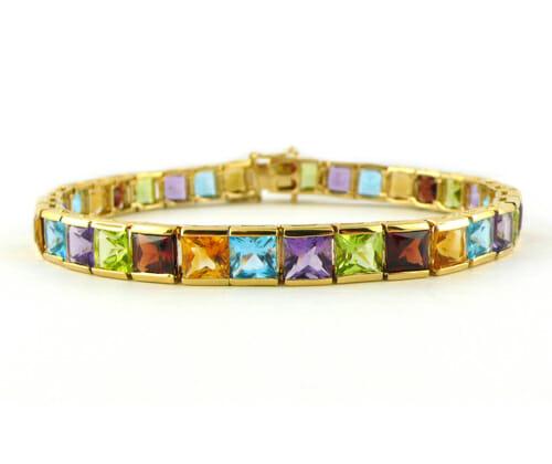 Coloured Gemstone Jewellery 54