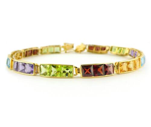 Coloured Gemstone Jewellery 55