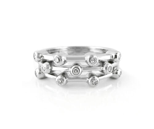 Diamond Dress Rings 11
