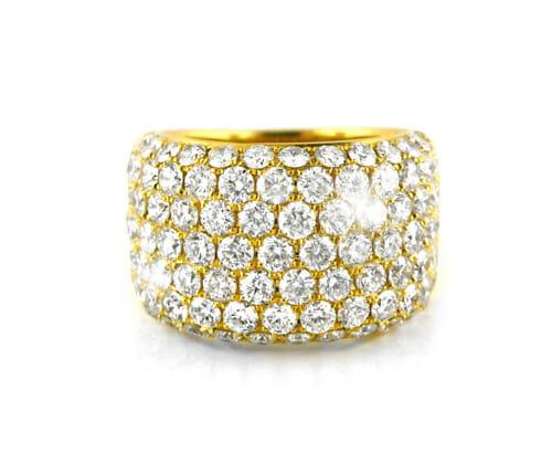 Diamond Dress Rings 18