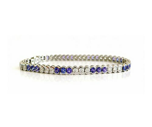 Tanzanite Bracelets and Bangles 4