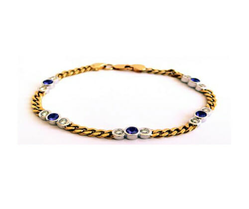 Tanzanite Bracelets and Bangles 10