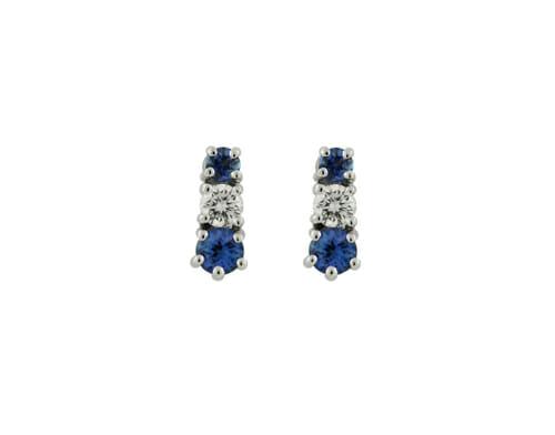 Rare Tanzanite & Diamond Earrings 13