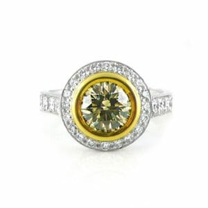 Diamond Halo Ring 015