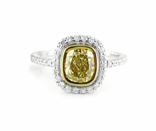 Diamond Halo Ring 017