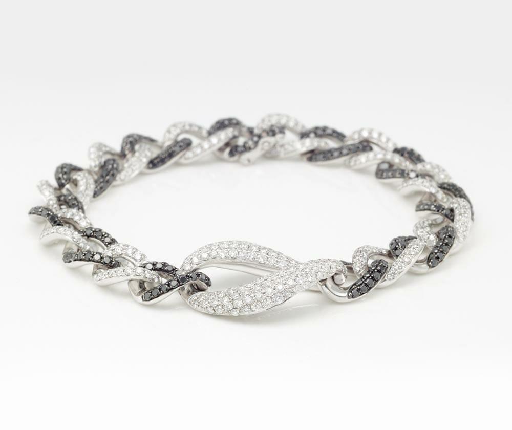 Black and White Diamond Jewellery 2