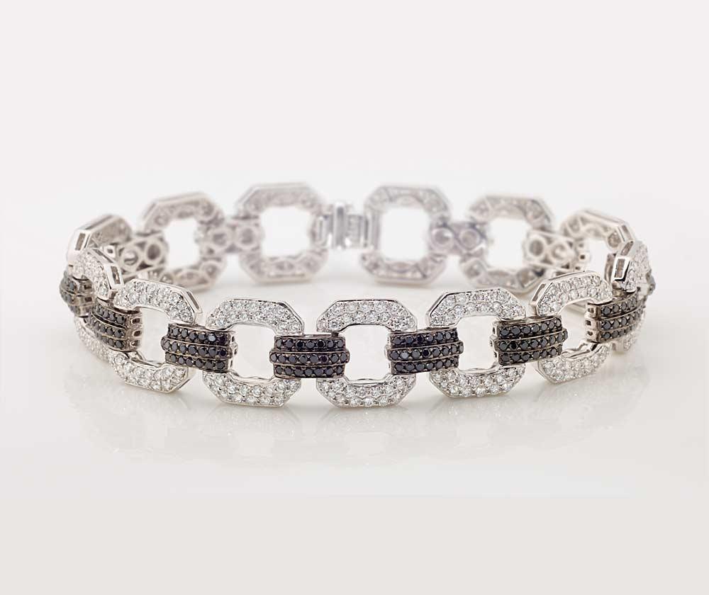 Black and White Diamond Jewellery 3