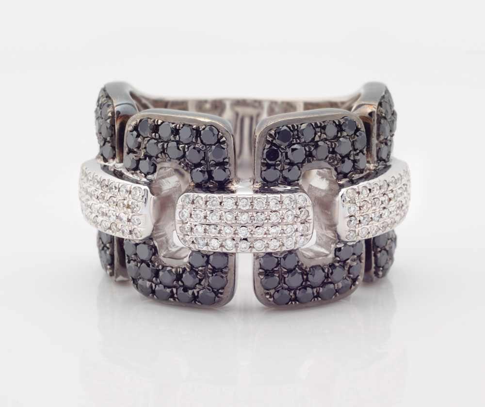 Black and White Diamond Jewellery 7