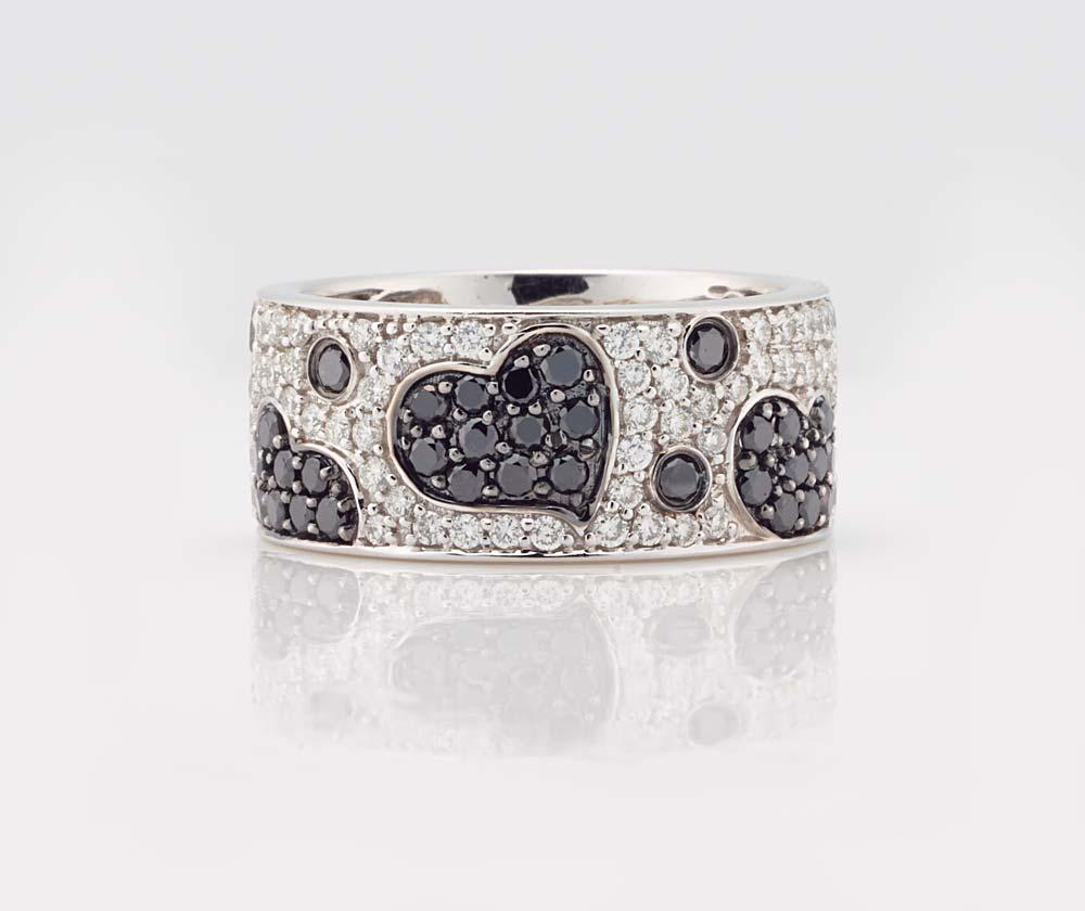 Black and White Diamond Jewellery 9