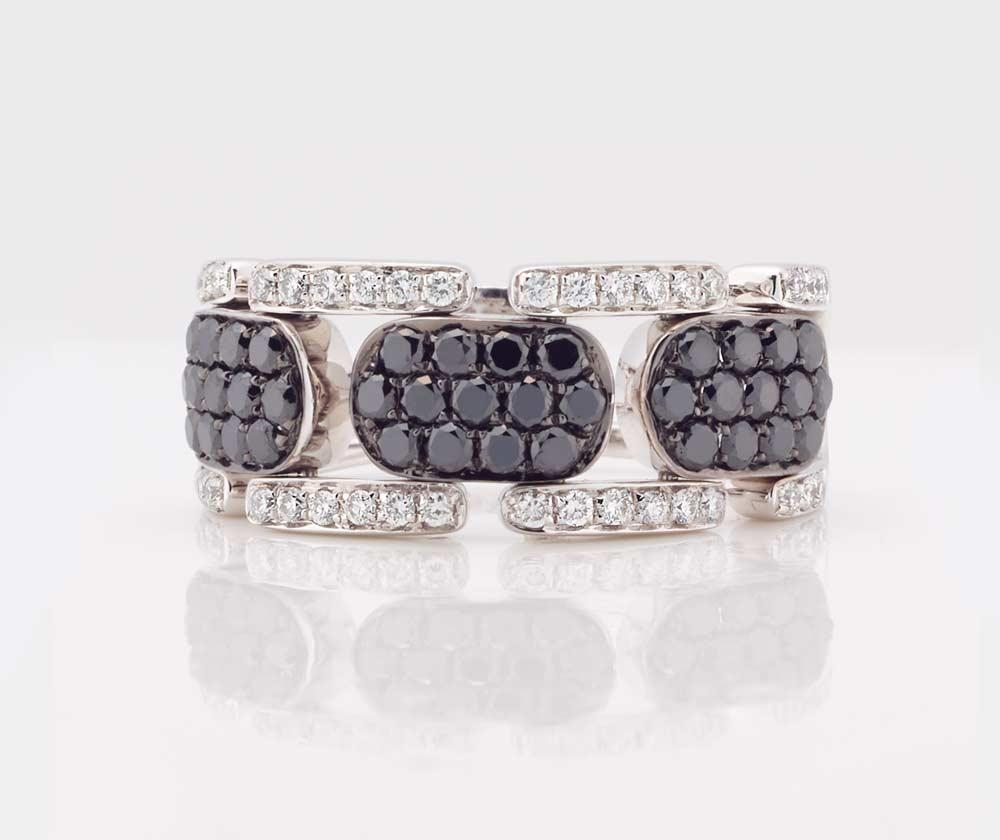 Black and White Diamond Jewellery 11