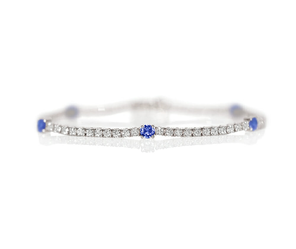 Tanzanite Bracelets and Bangles 2
