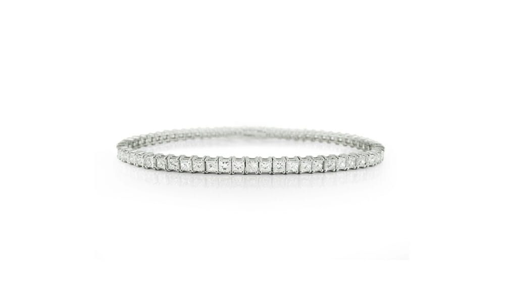Princess-Cut Diamond Tennis Bracelet | Diamond Tennis Bracelets