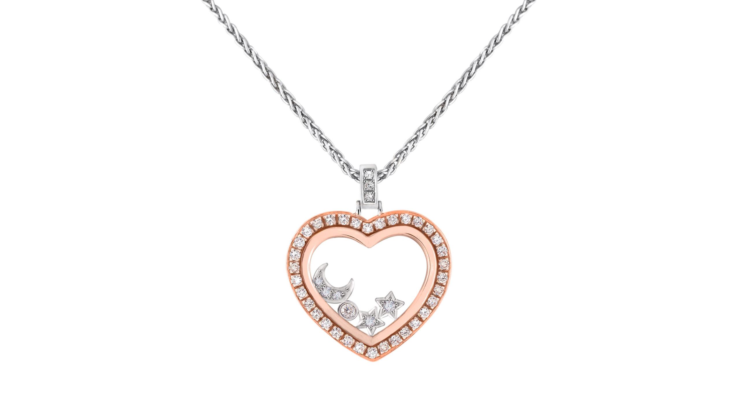Enchanted Diamond Starry Night Necklace