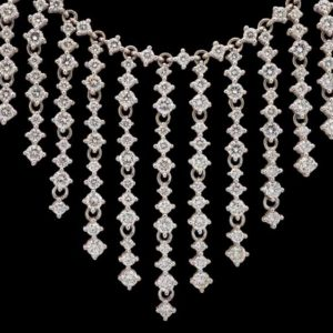 cascading diamond necklace | Diamond Necklaces