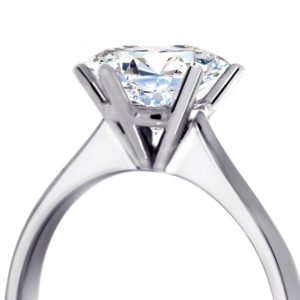 Diamond Engagement Ring | 18 carat 6 Claw Solitaire Ring