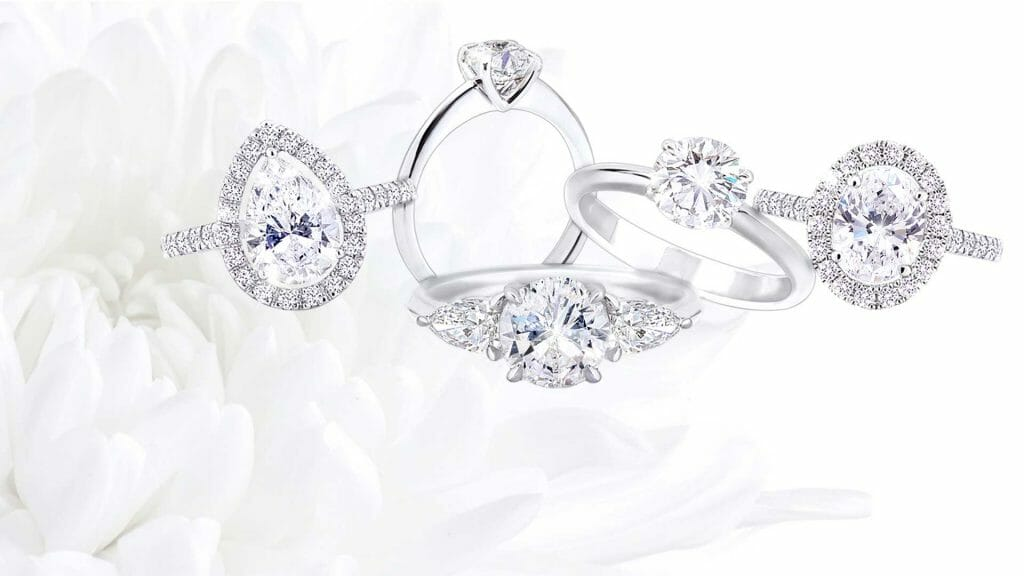 Proposal Spots in Cape Town    A variety of Mark Solomon Jewellers handcrafted diamond rings