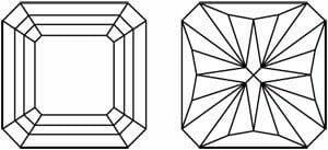 Diamond Cut Education | Diagram of Barion Cut Diamond