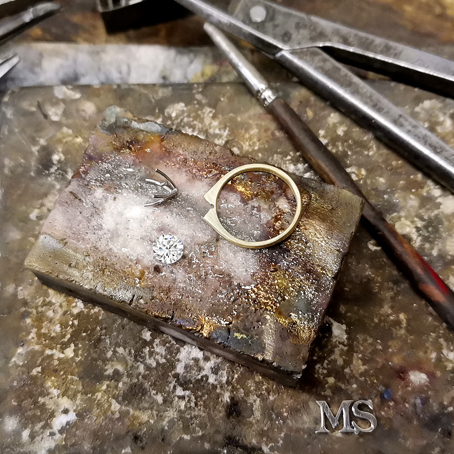 The Custom Made Jewellery Process 1