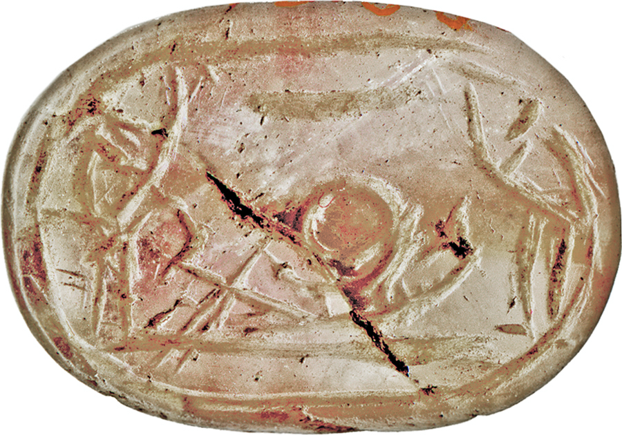 Egyptian amethyst scarab: this scarab functioned as a funerary amulet, guaranteeing the renewal of the deceased in the afterlife. | via The Walters Art Museum